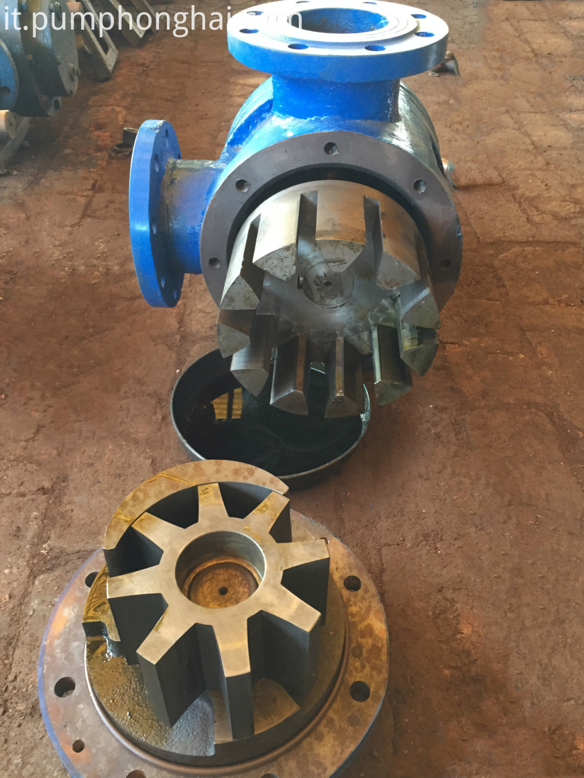 high viscosity gear oil pump